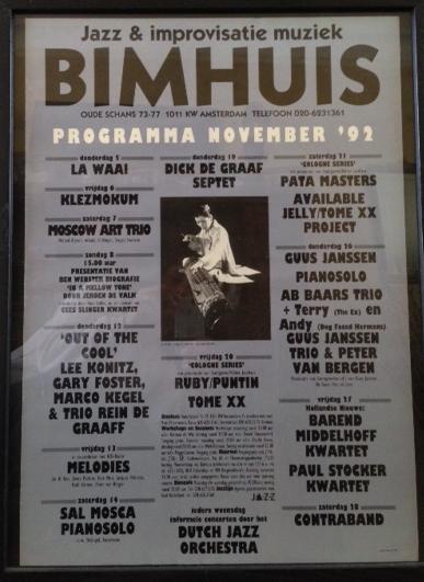 Bimhuis Poster